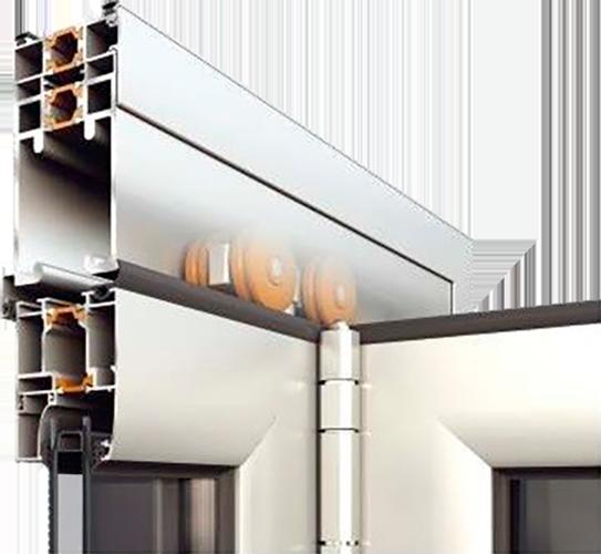Тепла система для дверних конструкцій alumil m19800 від фабрики вікон EKIPAZH