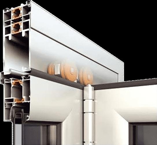 Тепла система для дверних конструкцій alumil m19800 для дилерів EKIPAZH