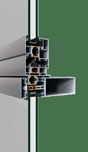 Надійна стійко-ригельна фасадна система від компанії EKIPAZH