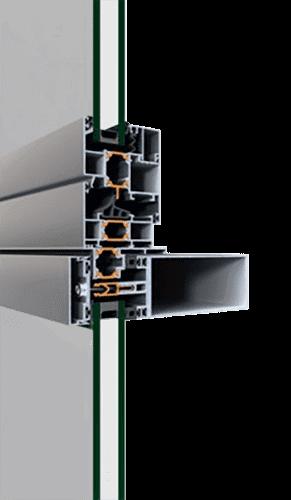 Cтійко-ригельна фасадна система alumil m7 для дилерів EKIPAZH