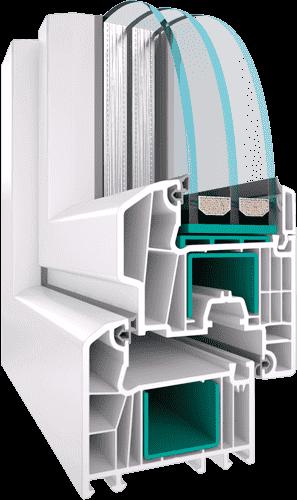 Ексклюзивна профільна система EKIPAZH Ultra 7 від фабрики вікон - EKIPAZH. Вигідні умови для дилерства