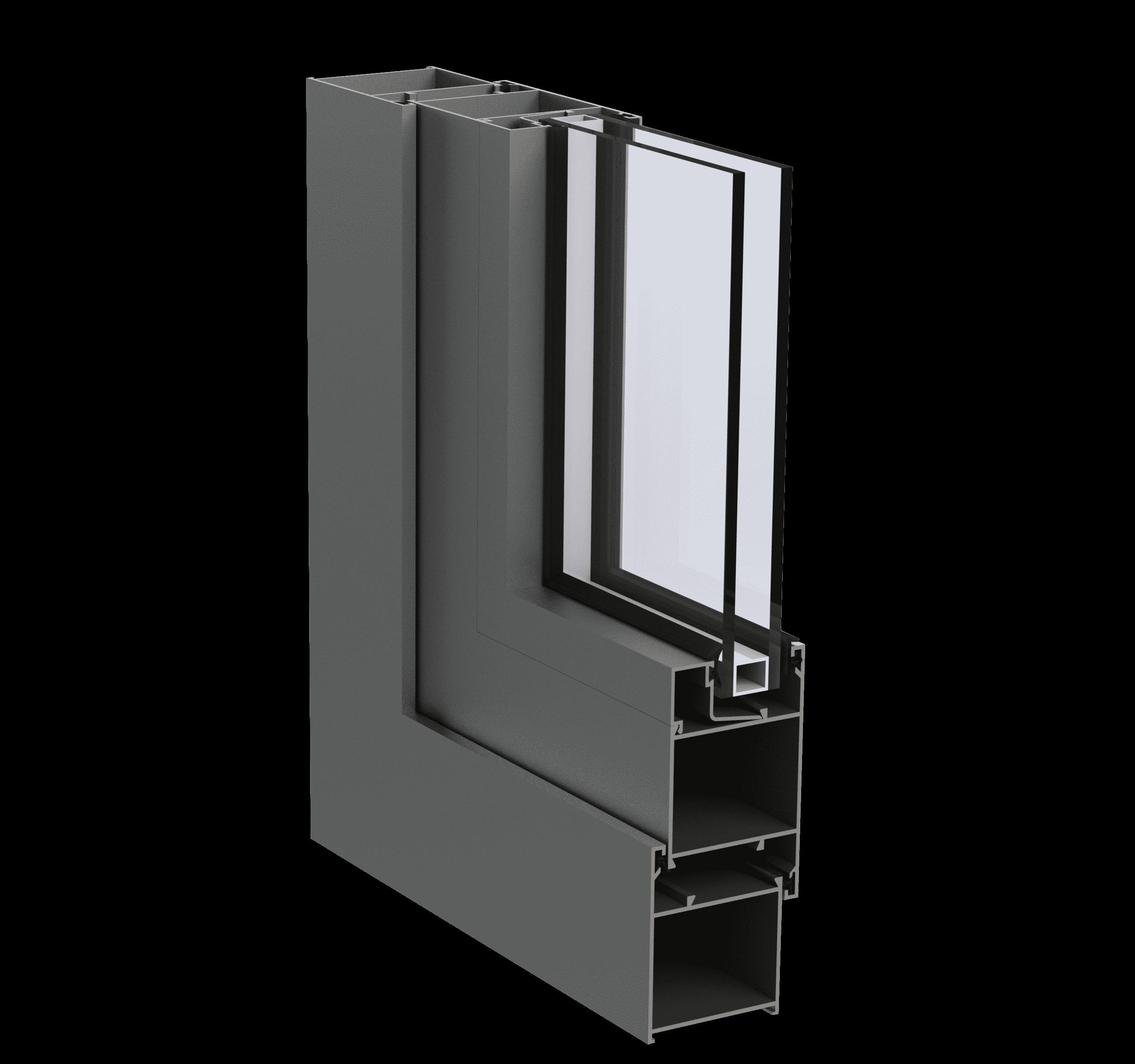 Холодна алюмінієва віконно-дверна система Hoffman L45 для дилерів від EKIPAZH. Вигідні умови для партнерства