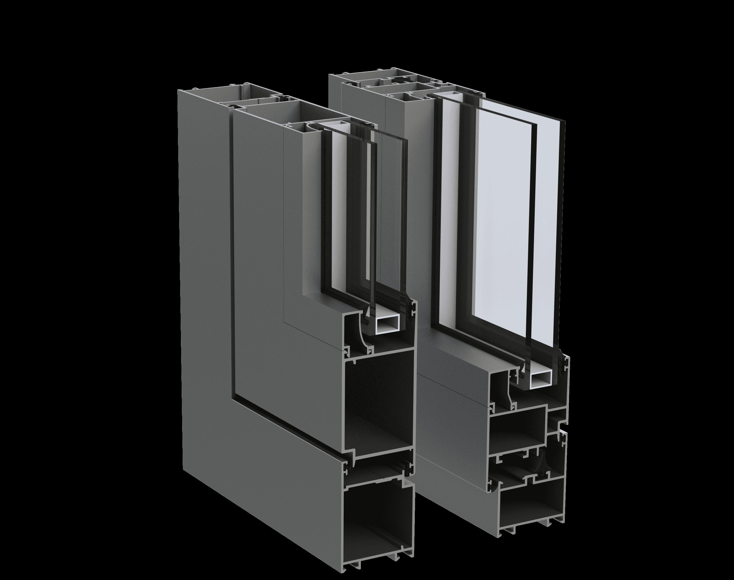 Холодна віконно-дверна алюмінієва система alumil m15000 від EKIPAZH. Вигідні умови для дилерів