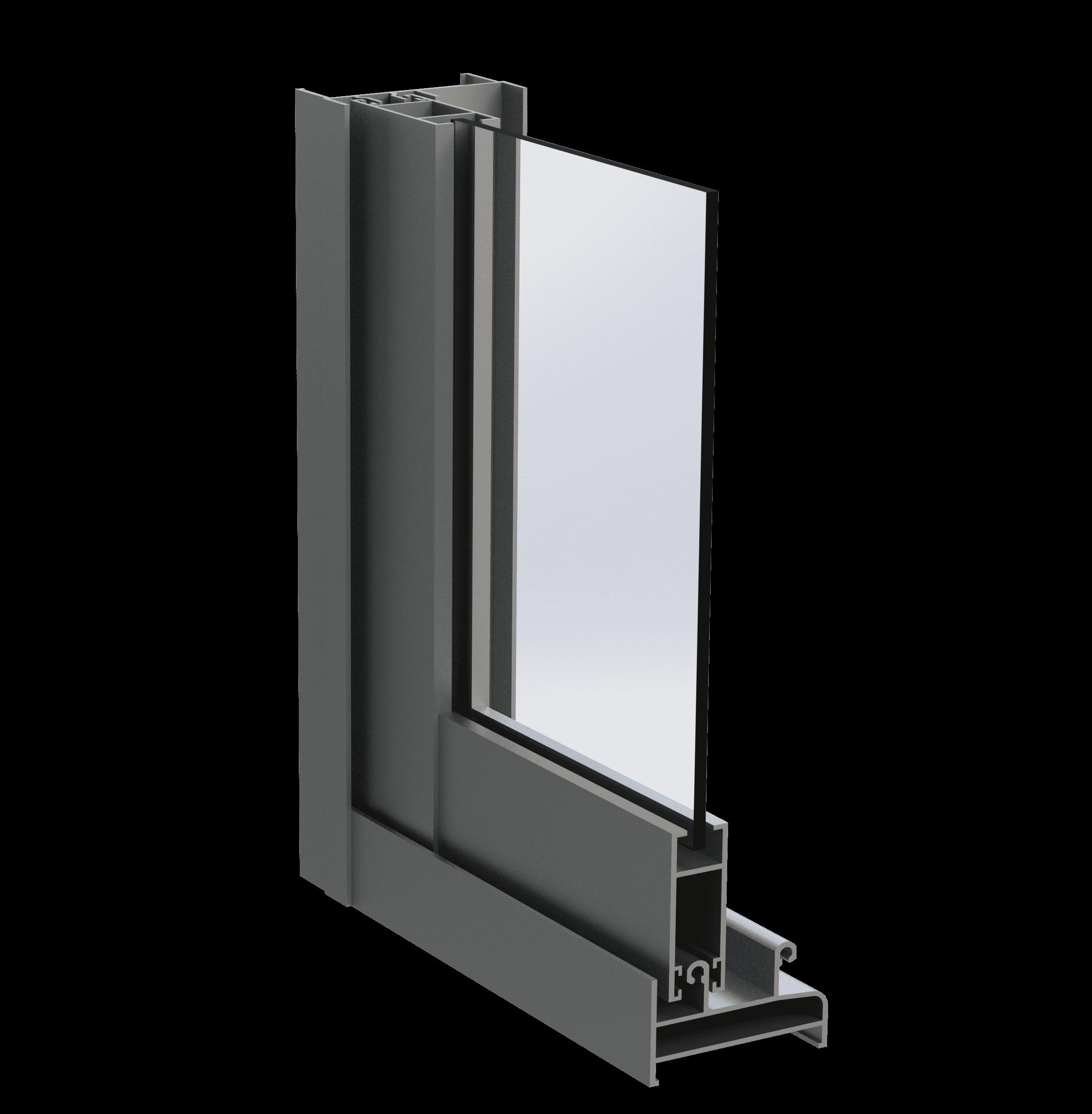 Розсувна віконно-дверна алюмінієва система alumil p100 для дилерів EKIPAZH. Вигідні умови для дилерства