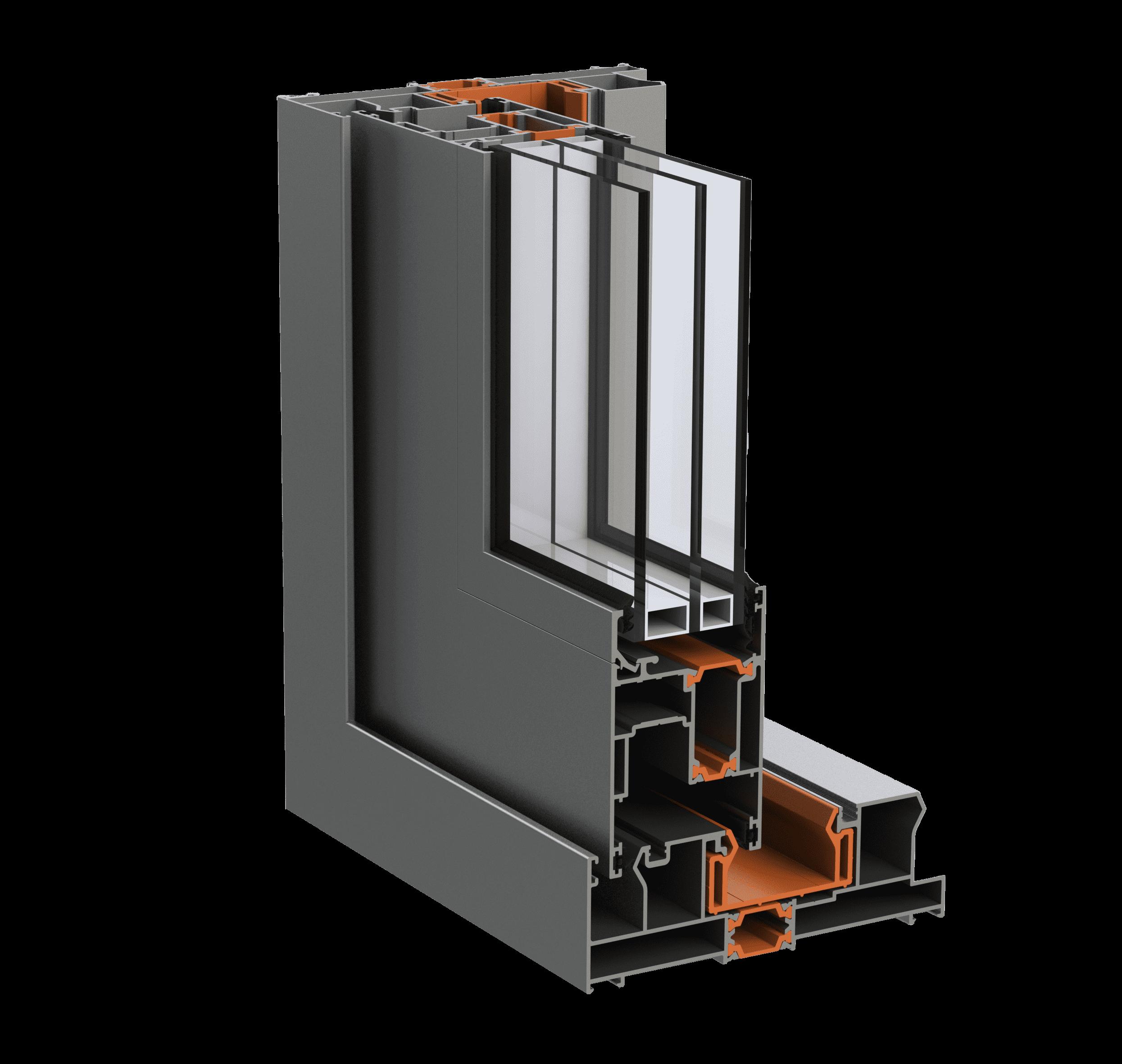 Під'ємно-розсувна алюмінієва система alumil s560 для дилерів EKIPAZH