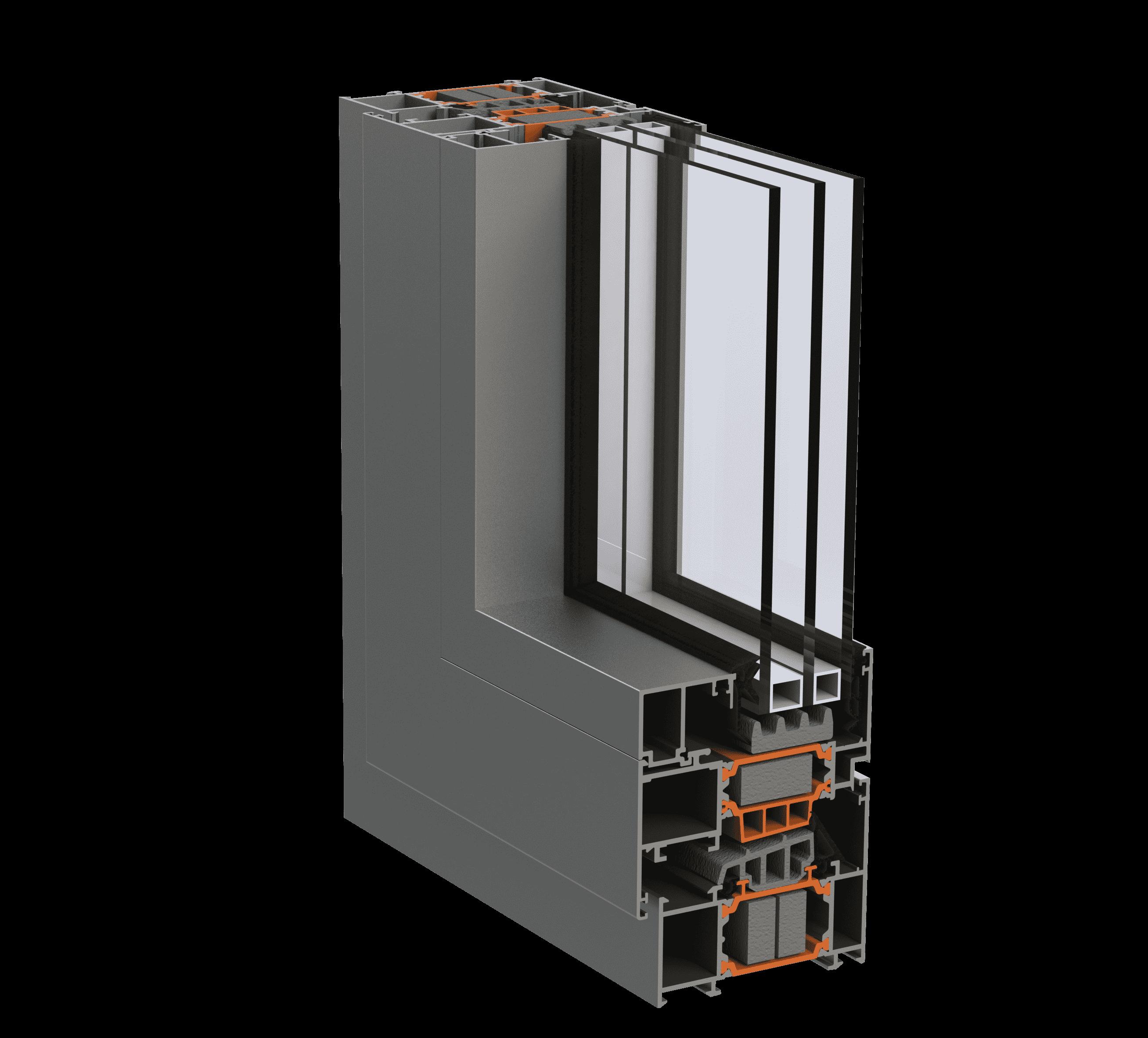 Віконно-дверна алюмінієва система alumil s77 для дилерів EKIPAZH. Вигідні умови для дилерства