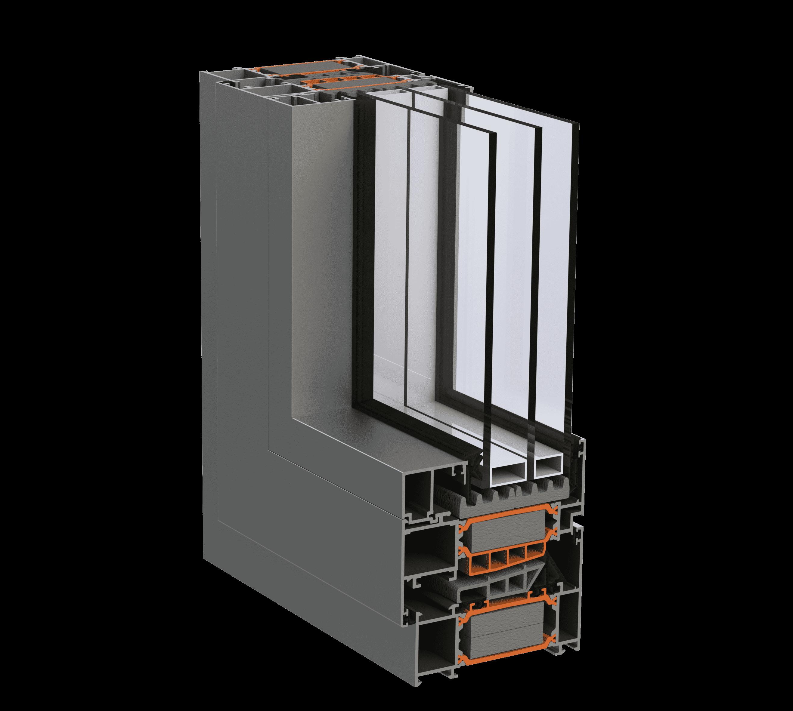 Віконно - дверна алюмінієва система alumil S91 для дилерів від EKIPAZH