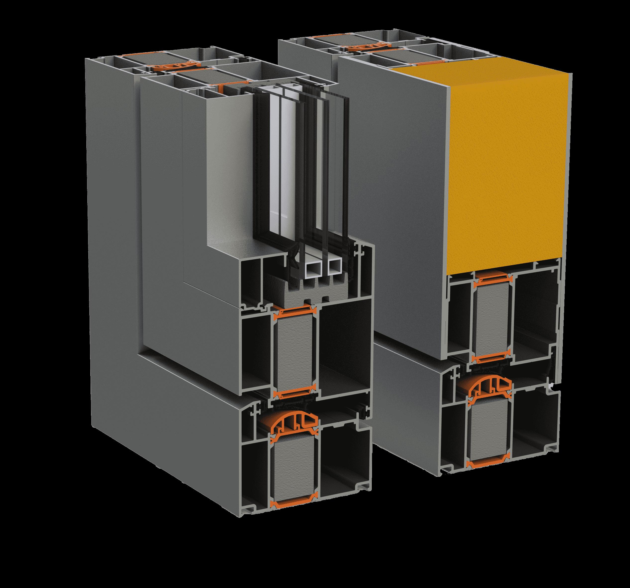 Алюмінієва система Alumil SD95 від EKIPAZH