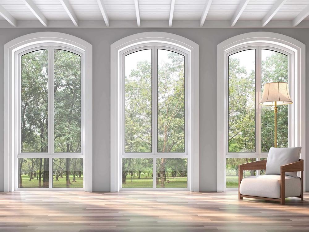 Віконні конструкції нестандартних форм від фабрики вікон EKIPAZH