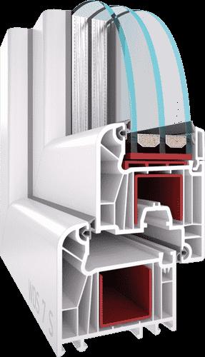 Віконна профільна система WDS 7S для дилерів EKIPAZH. Вигідні умови для партнерства