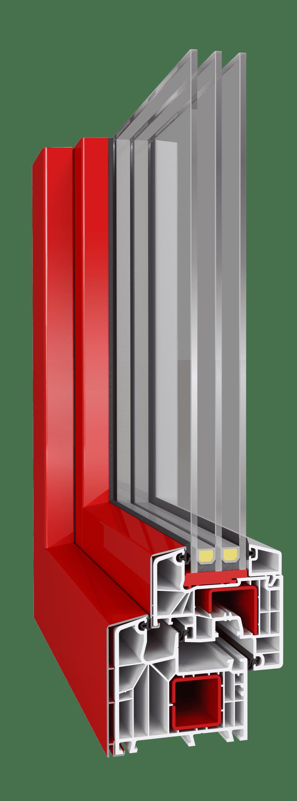 Алюмінієві накладки aluskin для зовнішнього декорування металопластикових конструкцій від EKIPAZH