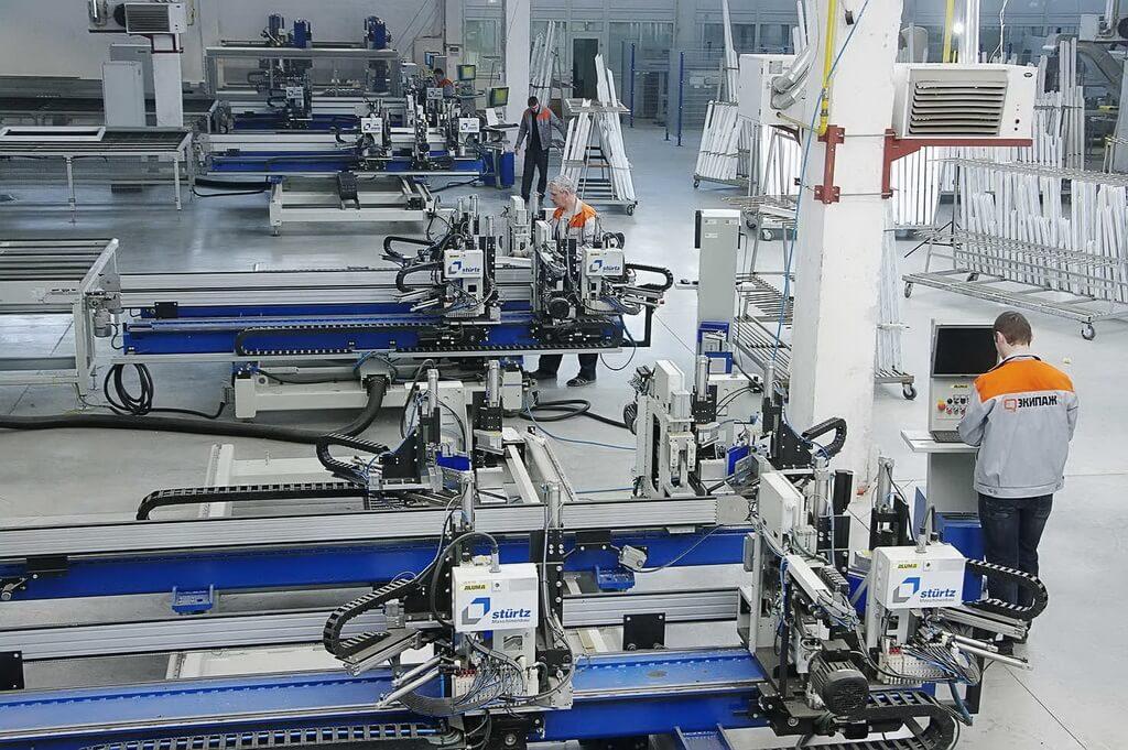 Завод ПВХ конструкцій EKIPAZH - стабільний рівень якості продукції протягом всього року