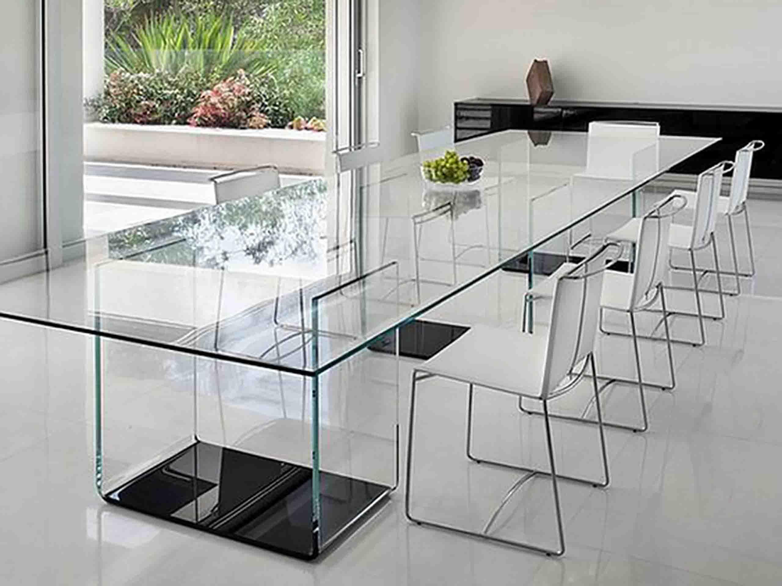 Суцільноскляні меблі під замовлення компанією EKIPAZH