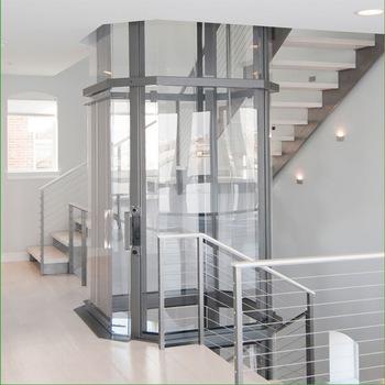 Виготовлення ліфтів із скла під замовлення компанією EKIPAZH